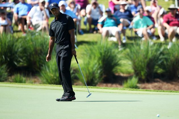 VIDEO: Tiger Woods Eagles No. 2 at Players Championship