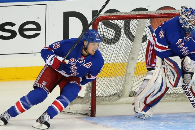 Staal Won't Be in Lineup for Rangers in Game 5