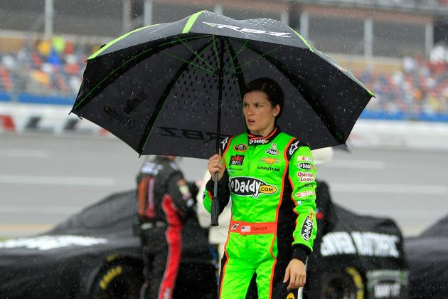 Stenhouse Jr., Danica Patrick Getting Comfortable with Spotlight