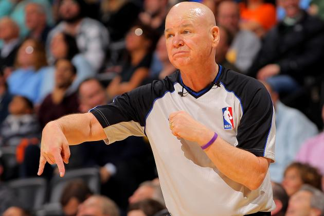 NBA Official Joey Crawford Called in for Game 3