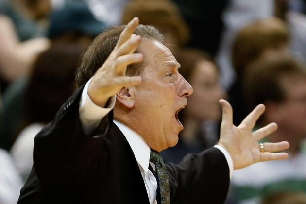 Tom Izzo Glad That Flopping May Be Going Away