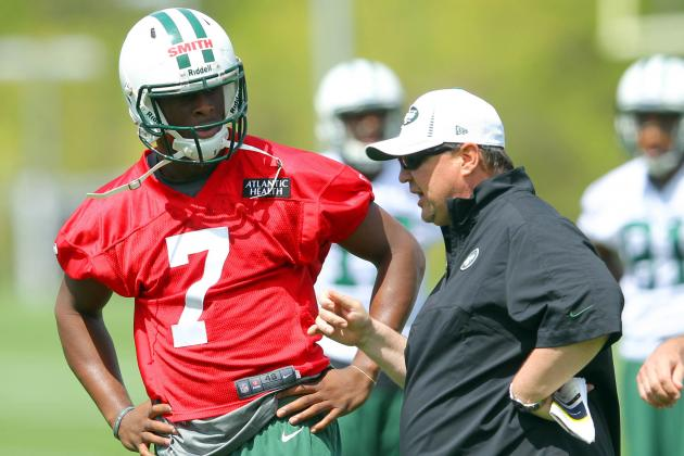 Geno Smith Gives Himself an F for His First Day on the Job