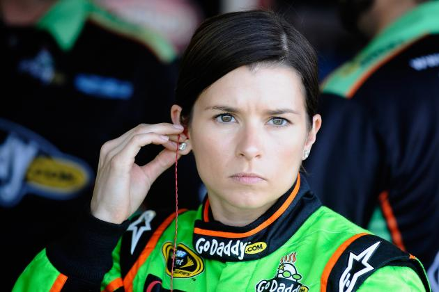 Danica Patrick Slapped by 'Lady in Black,' Crashes in Practice at Darlington