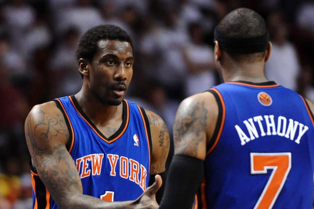 Woodson: Amar'e Will Play in Game 3