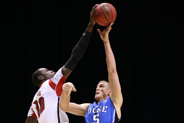 Mason Plumlee Seth Curry Ryan Kelly NBA Combine Duke