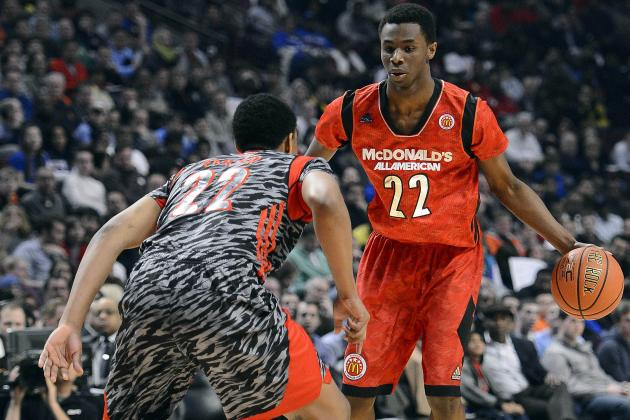 Andrew Wiggins Will Face Crazy Pressure Once He Finally Makes College Decision