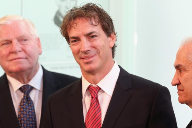 Sakic Named Executive VP, Sherman Remains GM