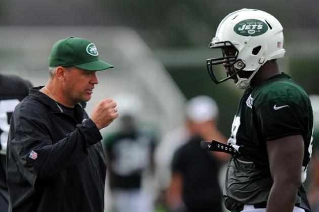 Rex Ryan Criticizes Quinton Coples' Work in the Weight Room