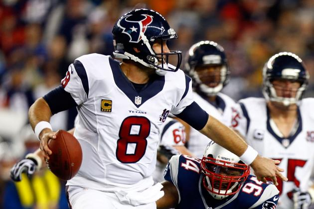 Photos: Texans' history at quarterback