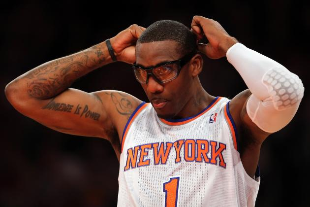 Knicks vs. Pacers: How Amar'e Stoudemire's Return Benefits New York