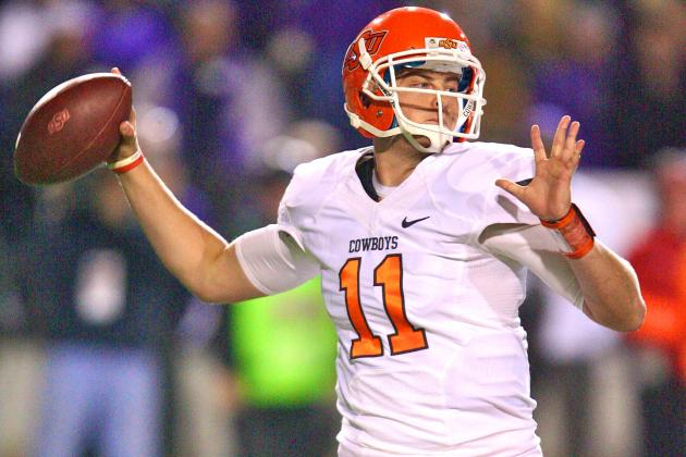 Oklahoma State QB Wes Lunt Transfer is Case of Having Too Much Talent