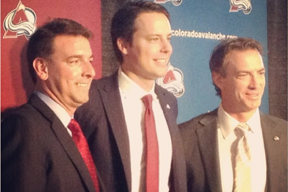 Instagram: Sakic, Avs New Front Office Poses Together