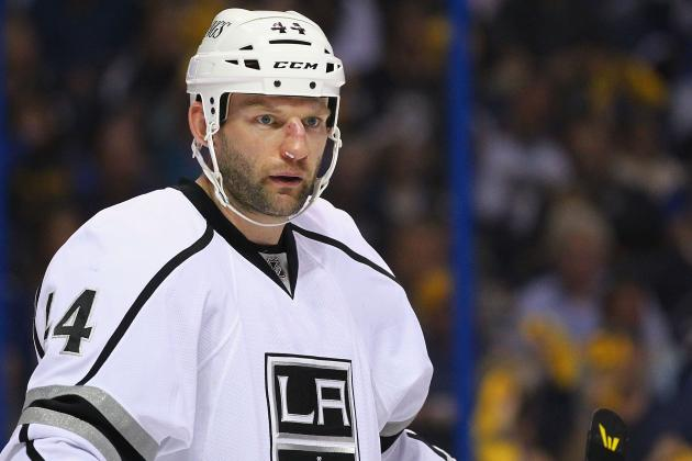 Kings Defenseman Robyn Regehr Talks About His Twice-Broken Nose