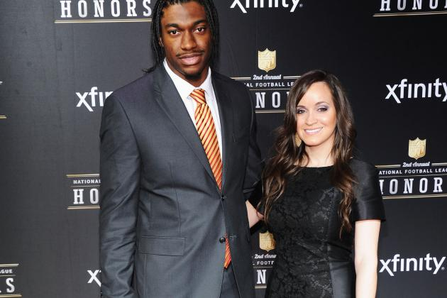 Robert Griffin III Fans Helping Redskins Star Get Everything on Wedding Registry
