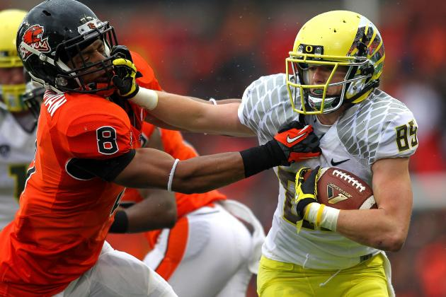 Will Murphy, a Former UO Walk-On, Gets NFL Tryout with Chip Kelly's Eagles