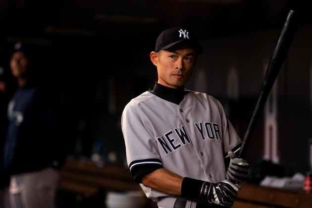 Ichiro Batting 5th Tonight vs. Royals