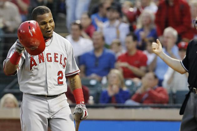 Aybar Expected to Miss 3-5 Days with Hamstring Injury
