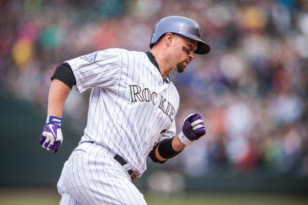 Michael Cuddyer out for Friday's Rockies-Cardinals Game with Neck Problem