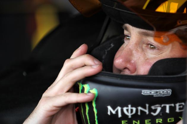 Busch Sets Track Record in Pole Win