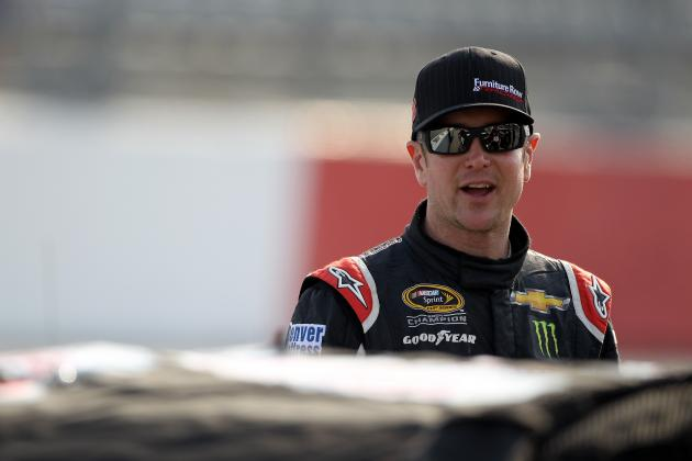 Ku. Busch Turns Record Lap for Darlington Pole