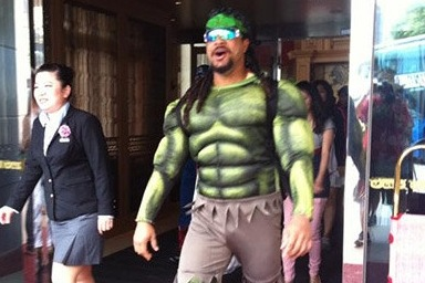 Here's ManRam as The Hulk Just Because