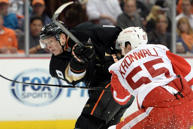 ESPN Gamecast: Ducks vs. Red Wings