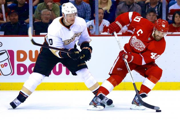 Anaheim Ducks vs. Detroit Red Wings: Live Score, Updates and Analysis