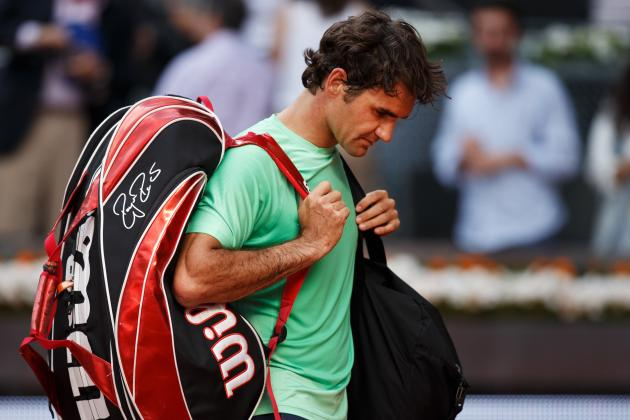 Roger Federer's Upset Loss at Madrid Open Is Bad Sign Heading into French Open