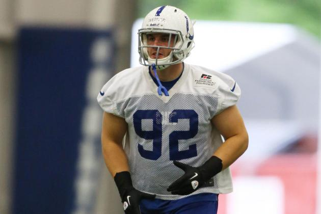 Colts Notes: First-Round Pick Bjoern Werner Makes a Good First Impression