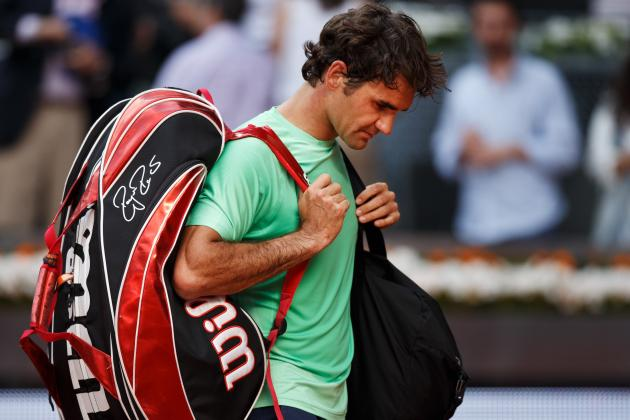 Roger Federer Will Bounce Back from Stunning Loss in Madrid Open