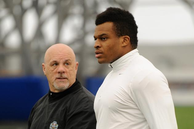 San Francisco 49ers: Discus Star Okoye Learning Football