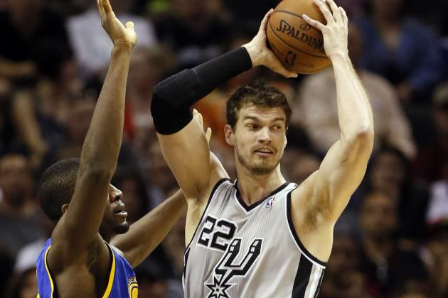 Spurs' Tiago Splitter to Start Game 3