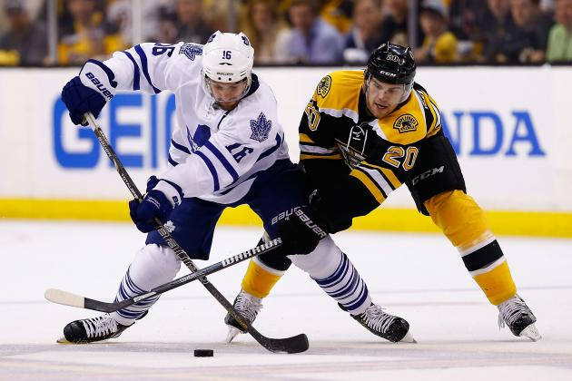 Maple Leafs 2, Bruins 1