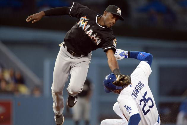 Marlins 5, Dodgers 4