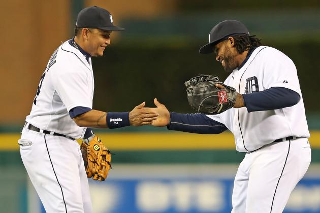Prince Fielder, Miguel Cabrera Homer in Tigers' Win Against Indians