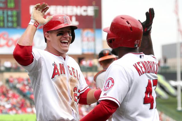 Mike Trout Lifts Angels to 7-5 Win over White Sox