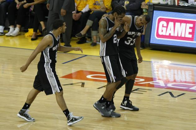 Game 3, Final: Spurs 102, Warriors 92
