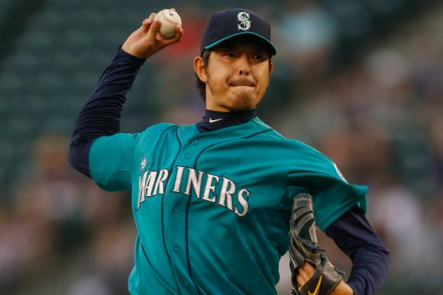 Seattle's Iwakuma Shuts Down A's in 6-3 Win