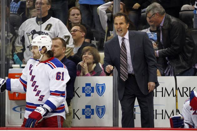 Rangers Forecheck Costs Them Game 5
