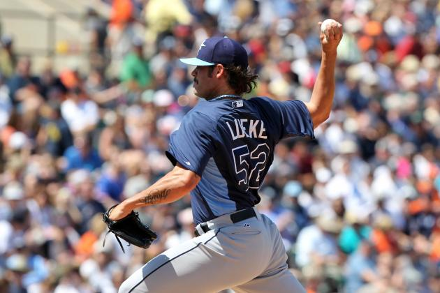 Rays' Callup Lueke Seeks Better Results