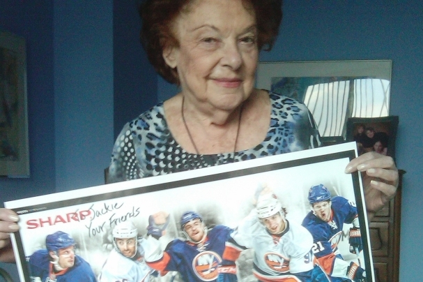 Hockey Finally Stole My Grandmother's Heart