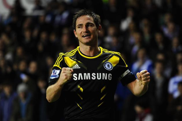 GIFs: Frank Lampard Sets Chelsea Scoring Record with 203rd Goal
