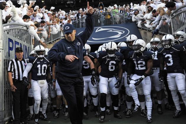 O'Brien Hops on Bus, Boosts Support for Penn State