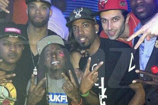 Lil Wayne to Chicago Bulls: Drinks on Me!