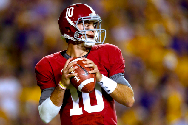 Alabama Football: A.J. McCarron Is Good, but He Won't Be More Than That