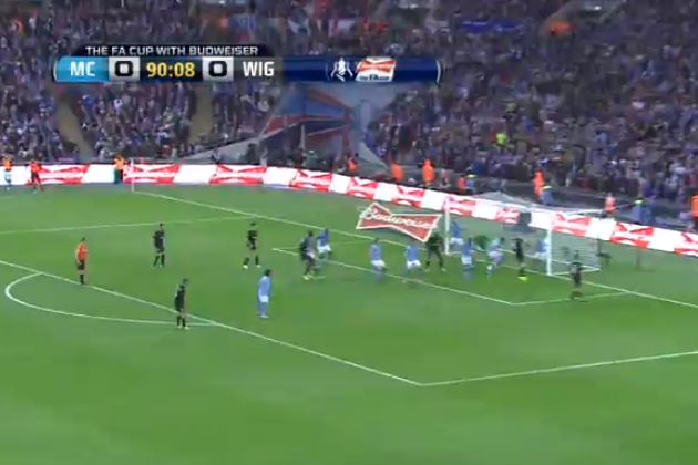 FA Cup Final: Ben Watson Scores Shocking Winner for Wigan vs. City (GIF & Video)