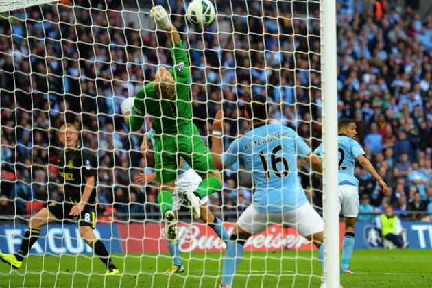 FA Cup Final: Ben Watson Scores Shocking Winner for Wigan vs. City (GIF & Video)