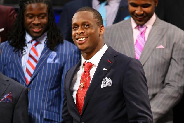 Geno Smith Feels More Comfortable on Second Day of Jets Rookie Camp
