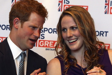 Missy Franklin Celebrated Her 18th Birthday with Prince Harry