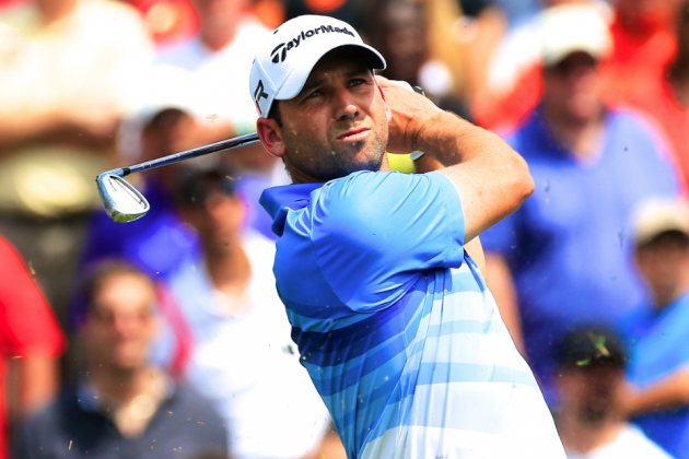 Sergio Blames Tiger for Bad Shot